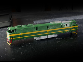 Hispatren 333 to DSB MZ type 1 in Frosted Ultra Detail