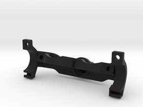 Ducati Monster 1200 Halter Quadlocksystem  in Black Strong & Flexible