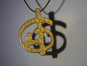 Zoran's Equation Pendant in Stainless Steel