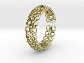 Honeyfull Quattro Bracelet 60mm in 18k Gold Plated