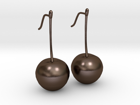 Cherry On Top in Polished Bronze Steel