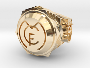 Cristiano Ronaldo Ring  in 14K Gold