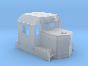 CN/NAR SD38-2 As-Built Cab 1/87.1 in Frosted Extreme Detail