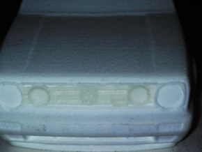 Golf MKII parts 1/32 in Frosted Extreme Detail