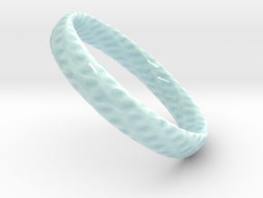Twistium - Bracelet P=180mm h15 in Gloss Celadon Green Porcelain