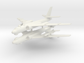 1/350 TU-16 Badger (x2) (Landing Gear Up) in White Strong & Flexible