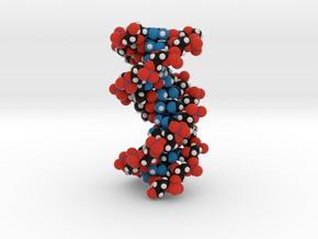 DNA double helix (unmodified) 1.6x in Full Color Sandstone
