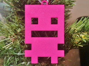 Turbo Buddy Ornament in Pink Strong & Flexible Polished