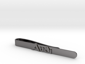 Luxury Audi Tie Clip - Minimalist in Polished Nickel Steel