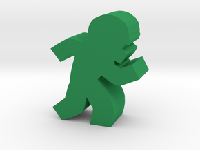 Game Piece, Football Player in Green Strong & Flexible Polished