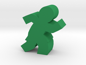 Game Piece, Soccer, Basketball Player in Green Strong & Flexible Polished