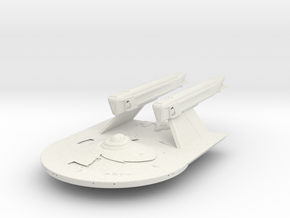 Larson Class Refit Destroyer in White Strong & Flexible