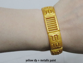 Viking Module Bracelet 1 in Yellow Strong & Flexible Polished