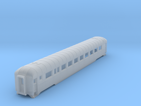 N scale DRGW streamstyled coach in Frosted Ultra Detail