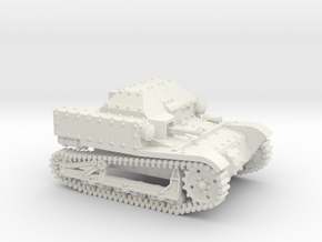 T27a Tankette (20mm) in White Strong & Flexible