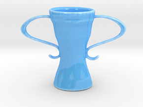 Victory in Gloss Blue Porcelain