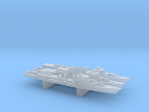 Late T53 Class Destroyer Set, 3pc, 1/6000 in Frosted Ultra Detail