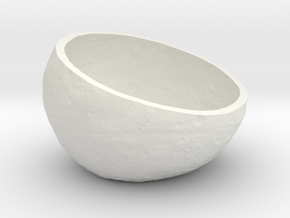Vesta Asteroid Succulent Planter (small) in White Strong & Flexible