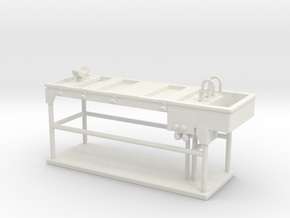 Autopsy Table 01. O scale (1:48) in White Strong & Flexible