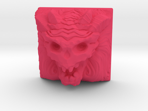 Demon Keycap (Topre DSA) in Pink Strong & Flexible Polished