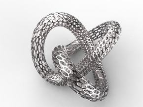 trefoil knot in White Strong & Flexible