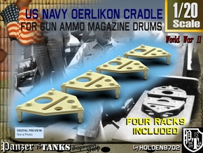 1-20 Oerlikon Magazine Cradle Set1 in Frosted Ultra Detail