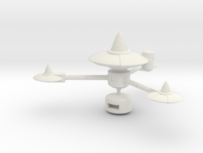 Starbase K-7 in White Strong & Flexible