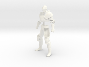 Dark Souls Partial Knight Set in White Strong & Flexible Polished
