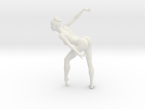 1/18 Nude Dancers 004 in White Strong & Flexible
