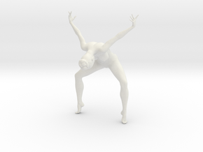 1/18 Nude Dancers 011 in White Strong & Flexible