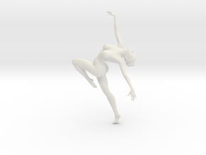 1/18 Nude Dancers 012 in White Strong & Flexible