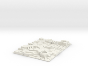 1/270 Death Star Tiles full set in White Strong & Flexible