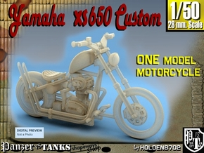 1-50 Yamaha XS650 Custom in Frosted Ultra Detail