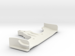 Xray Serpent CRC Yokomo Tamiya front Wing in White Strong & Flexible