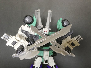 MMC Hexatron Butchknives in White Strong & Flexible