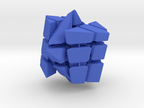 Spectre Cube in Blue Strong & Flexible Polished
