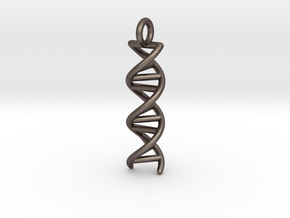 DNA Double Helix Pendant in Stainless Steel