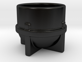 Joinery Espresso Cup in Matte Black Porcelain