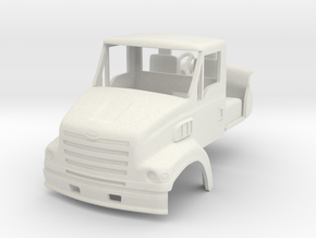 1/64 Sterling LT7501 truck cab with interior & mir in White Strong & Flexible