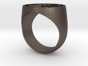 Overwatch Ring (US Size 10) in Stainless Steel