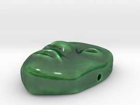 Indy Jade Mask in Gloss Oribe Green Porcelain