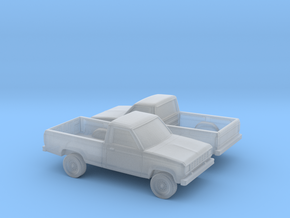 1/160 2X 1983-88 Ford Ranger Reg Cab in Frosted Ultra Detail