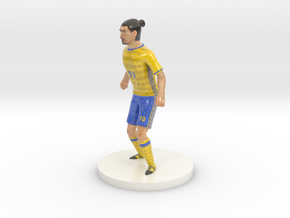 Swedish Football Player in Coated Full Color Sandstone