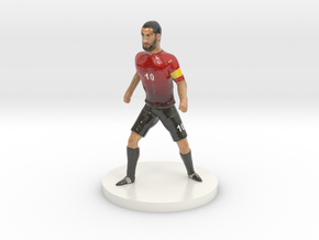 Turkish Football Player in Coated Full Color Sandstone