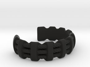 Flexy Cuff 1 small in Black Strong & Flexible