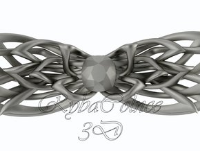 Bow tie/ ties in Polished Grey Steel
