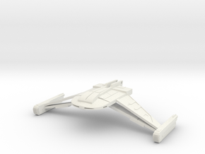 Romulan Bird Of Prey III in White Strong & Flexible