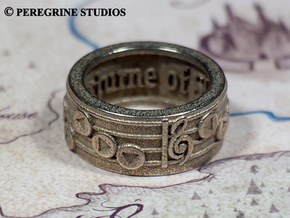 Ring - Nocturne of Shadow (Size 13) in Stainless Steel