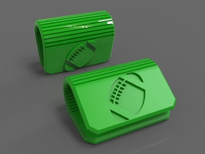 Football Webcam Security Cover in Green Strong & Flexible Polished