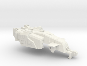 Drill Tank Turret in White Strong & Flexible